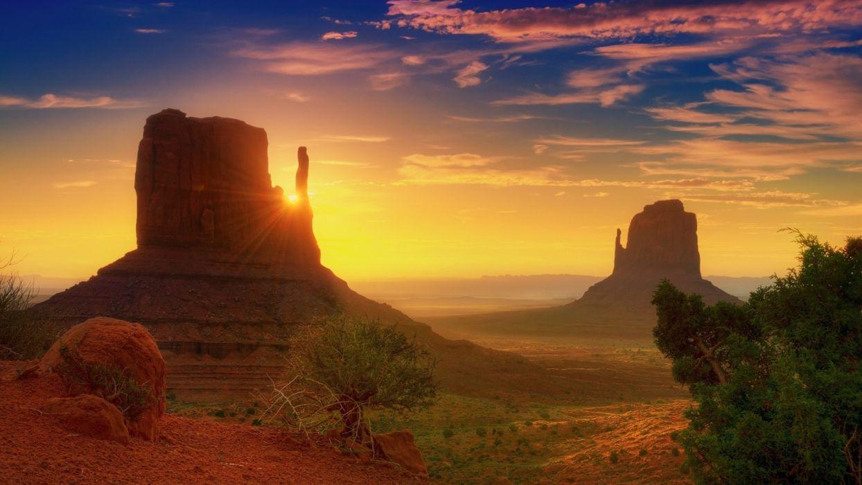Canyon-Sunrise wallpaper