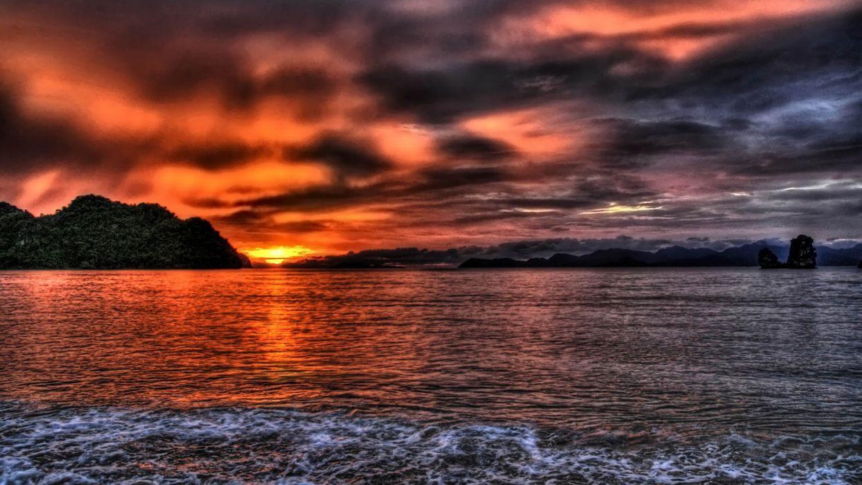 beautiful-sunset wallpaper