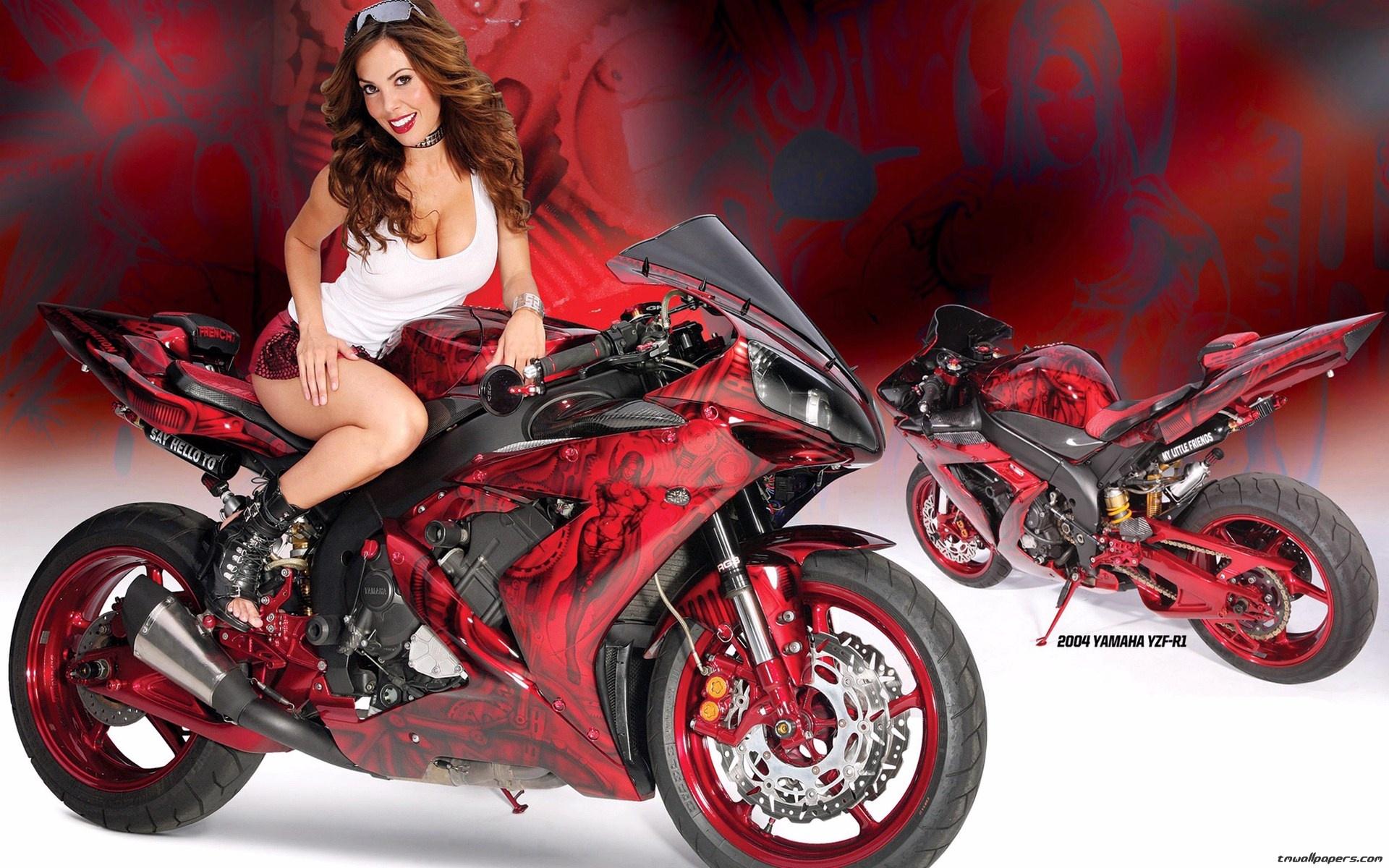 Мотоцикл ямаха фото для девушек