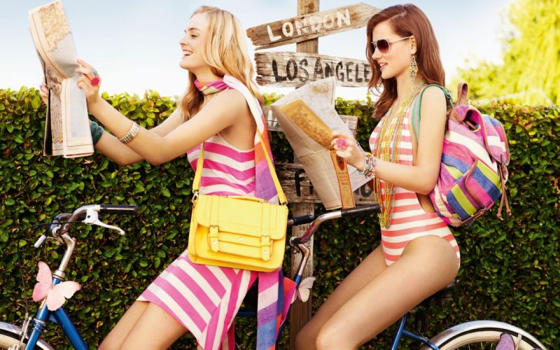 Photography-bicycle-sensuality-sensual-sexy-woman-girl-Malene Knudsen-couple-sunglasses-swimsuit wallpaper