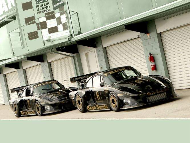 Porsche 935 K3 Rusty French Classic Race Car wallpaper
