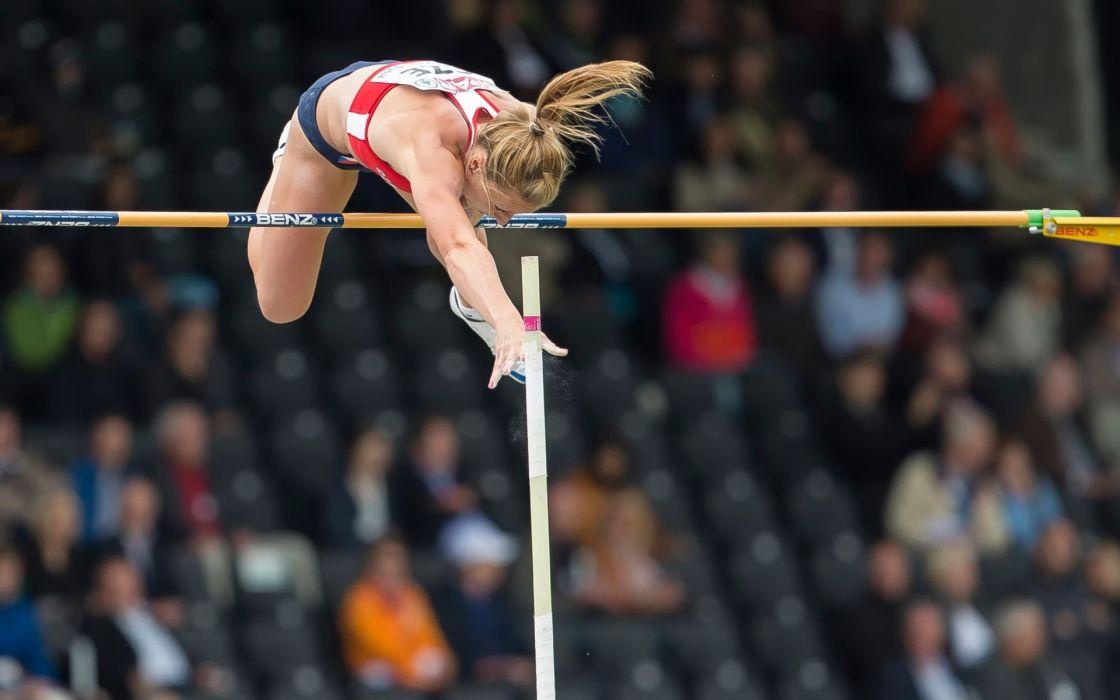 atletismo salto pertiga deporte wallpaper