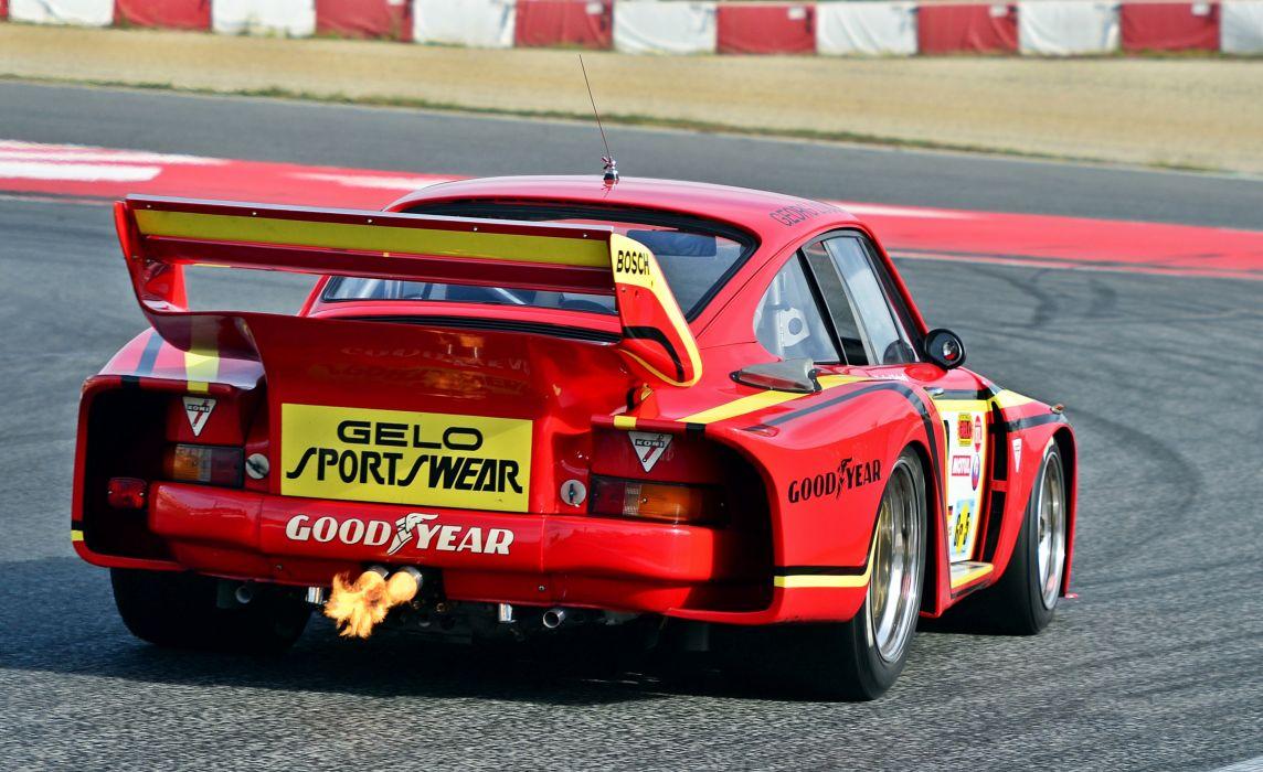 Porsche 935-78 Classic Race Car Backfire wallpaper