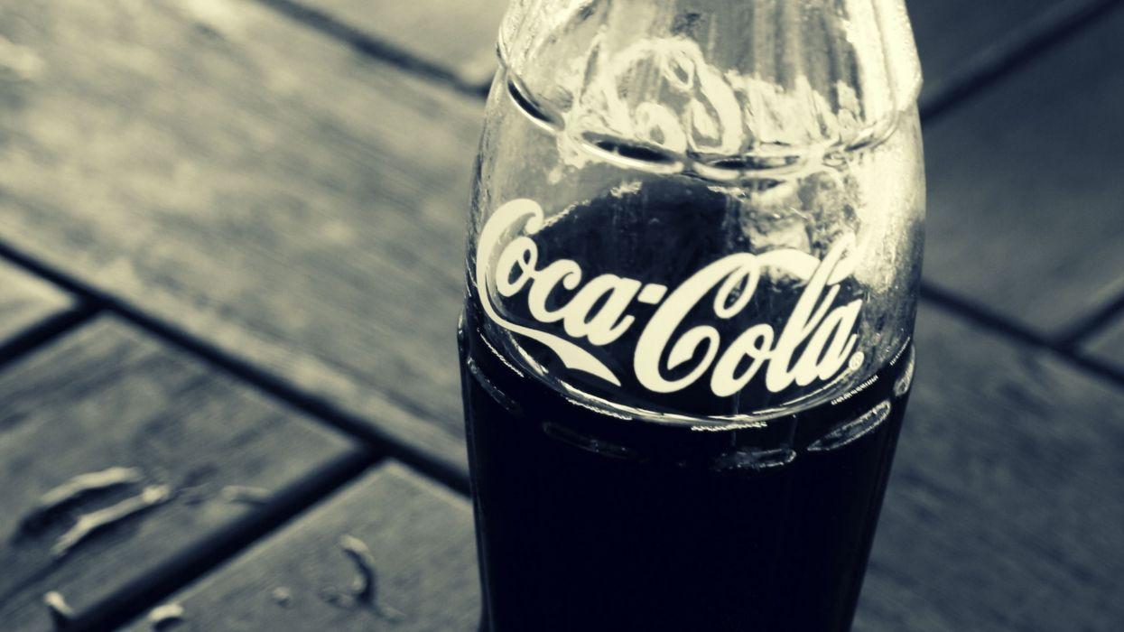 coca cola botella vidrio refresco wallpaper