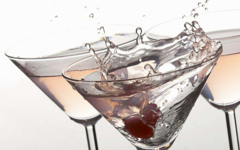 martini blanco brindis copas vidrio wallpaper