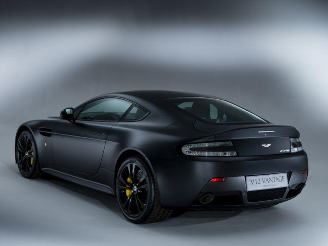 Aston Martin V12 Vantage Carbon Black II wallpaper