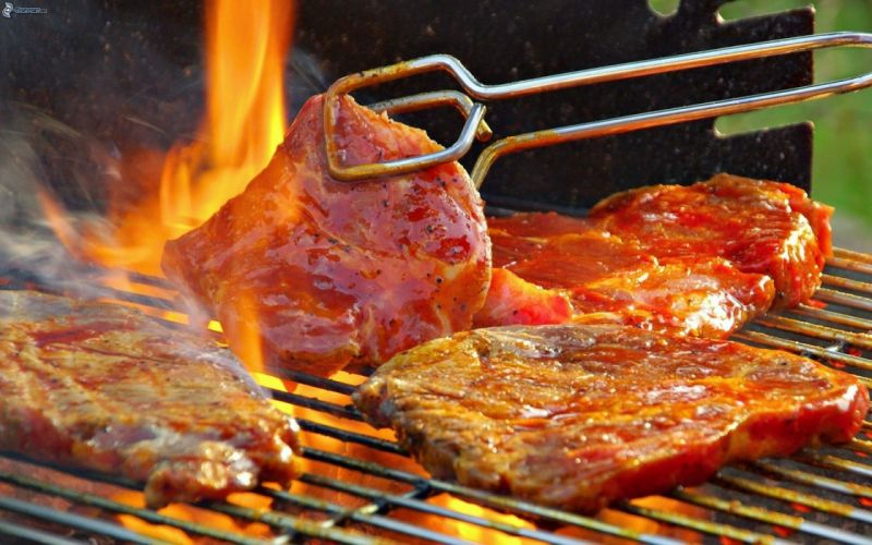 Parrillada argentina carnes embutidos wallpaper