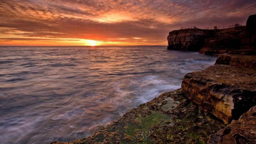 beach-beauty-at-dusk wallpaper