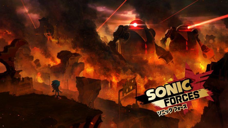 Sonic Forces concept art wallpaper