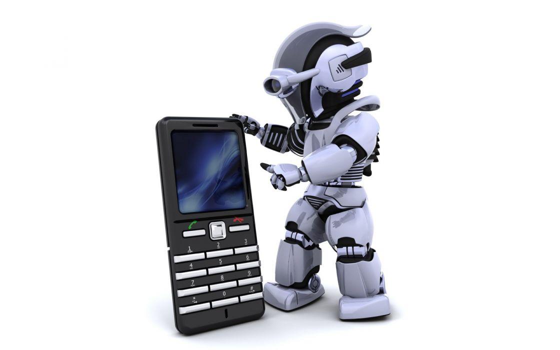 smatphone cyborg tecnologia wallpaper