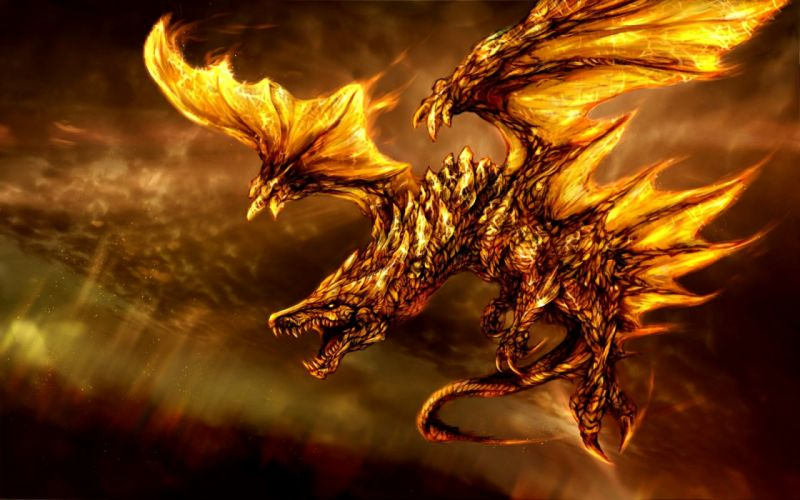 3d fantasy dragon wallpaper