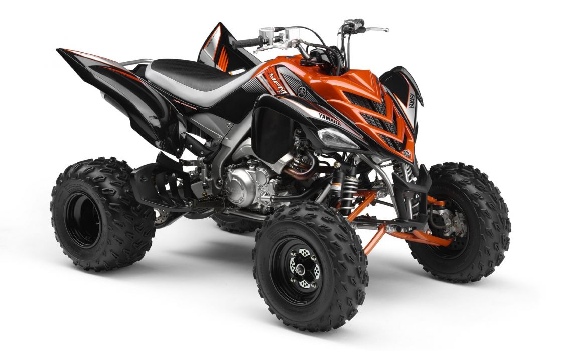 Yamaha 700R Raptor Orange wallpaper