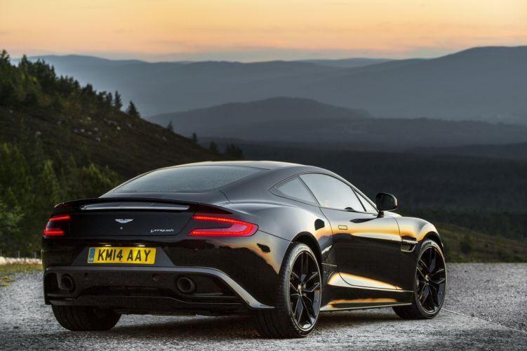 Aston Martin Vanquish Carbon Black wallpaper