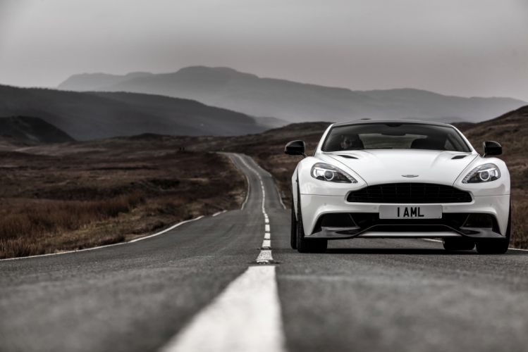 Aston Martin Vanquish Carbon White wallpaper