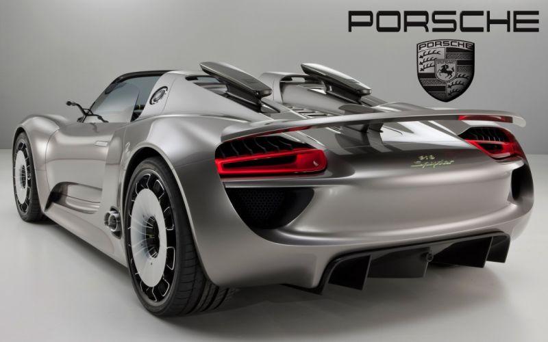 Porsche Stuttgart Spyder wallpaper