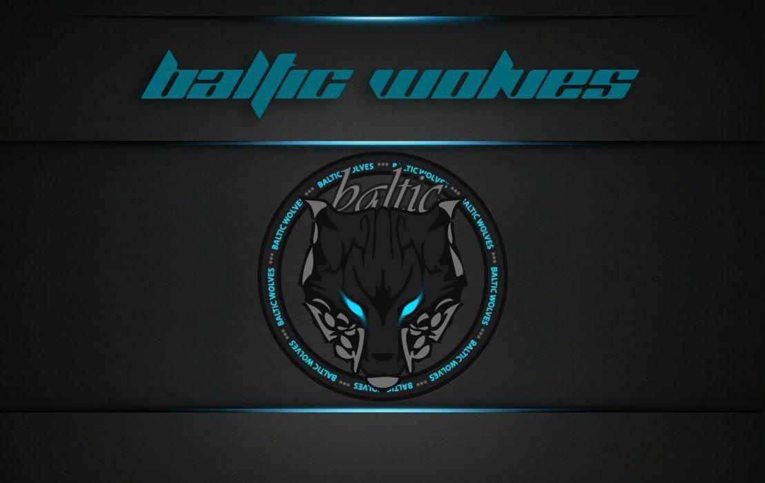 Baltic Wolves II wallpaper