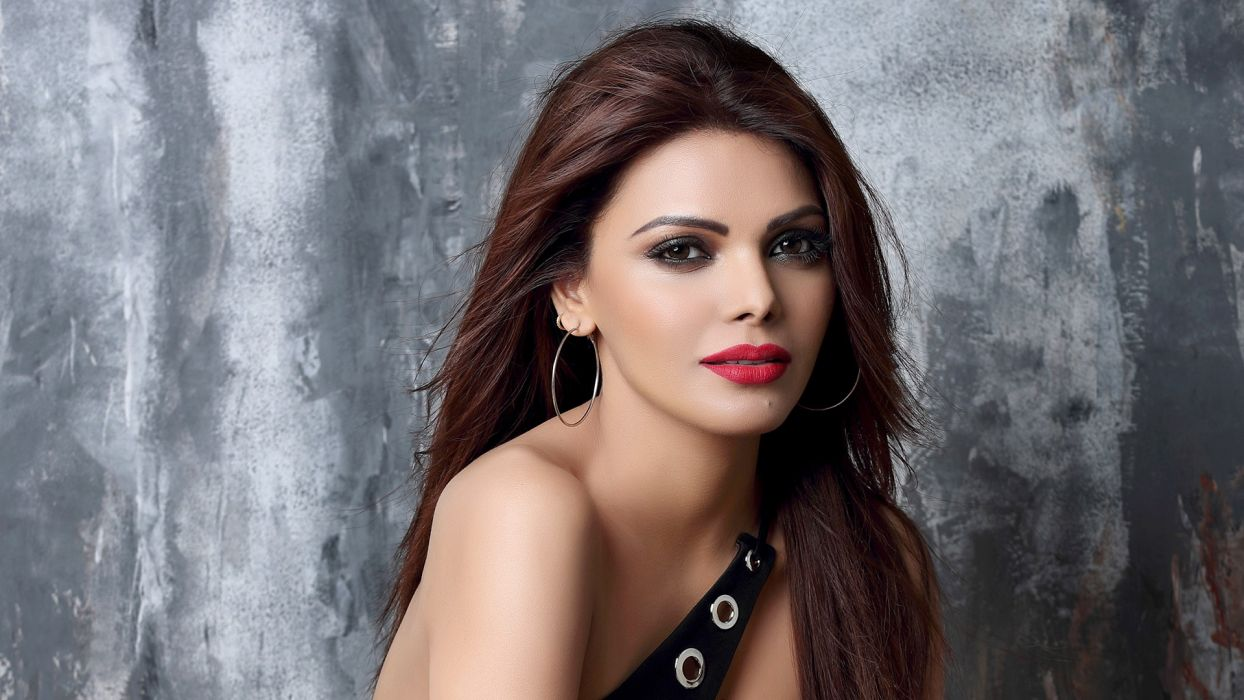 Sherlyn Chopra bollywood actress celebrity model girl beautiful brunette pretty cute beauty sexy hot pose face eyes hair lips smile figure makeup indian wallpaper