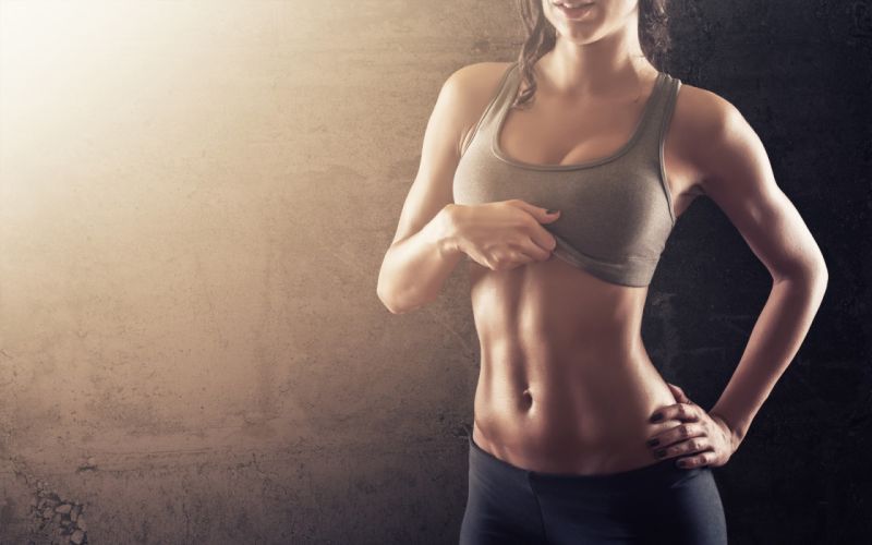 Sports sensuality sensual sexy woman girl model fitness belly tummy bra abs leggings hips wallpaper