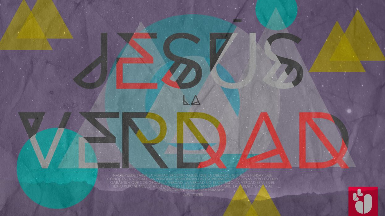 jesus la verdad texto abstracto wallpaper