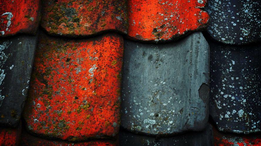 abstracto textura tejas viejas colores wallpaper