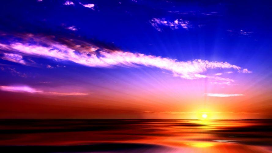 Light-Sunset wallpaper