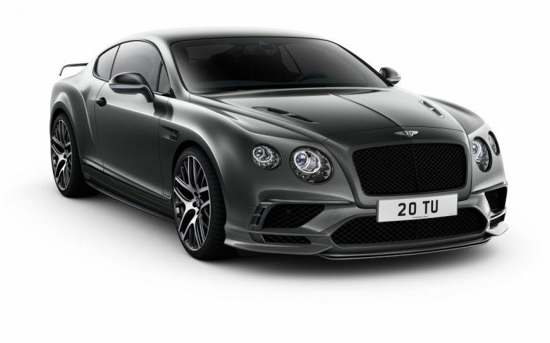 Bentley Continental GT Supersport 2017 wallpaper