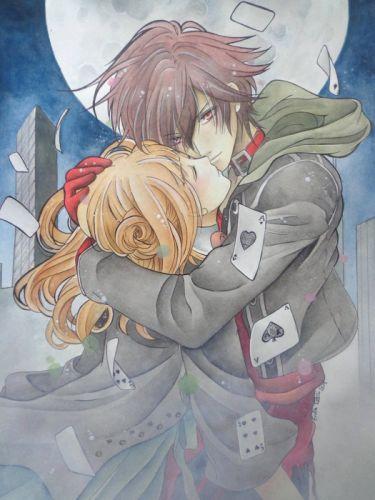 amnesia shin and heroine couplr anime girl boy wallpaper