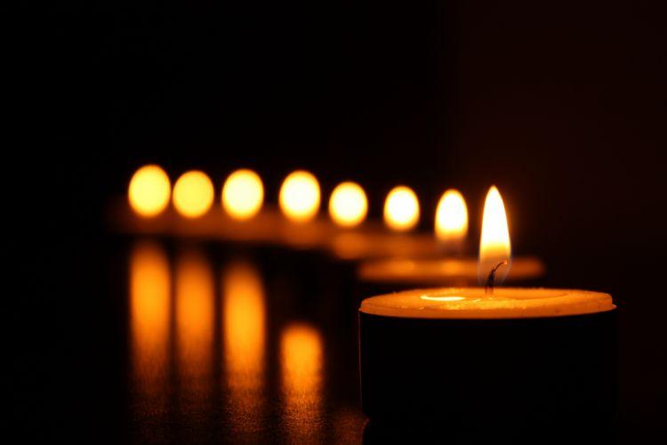 art blur bright candlelight candles close-up dark decoration flame focus gold heat hot illuminated light luminescence night reflection still life warmly wallpaper