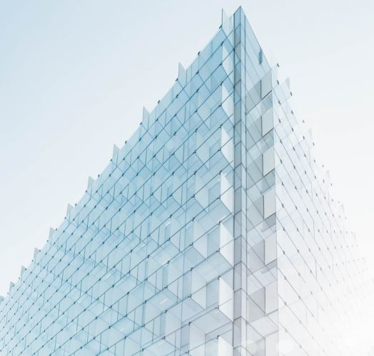 architecture building contemporary glass low angle shot modern perspective wallpaper