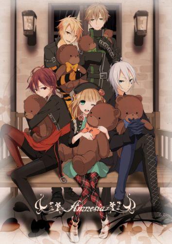 anime series group amnesia wallpaper