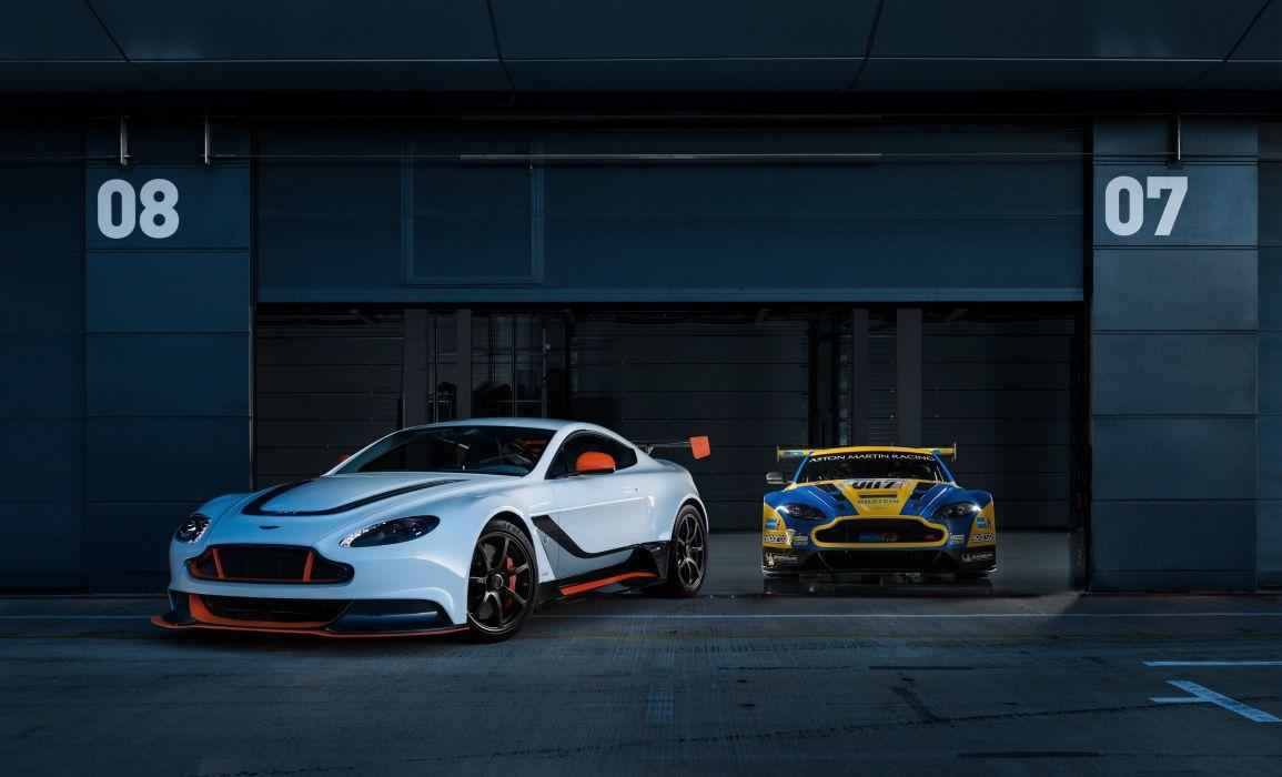 Aston Martin Vantage GT12 wallpaper