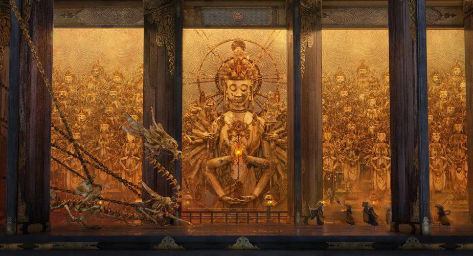 The Golden Dragon wallpaper