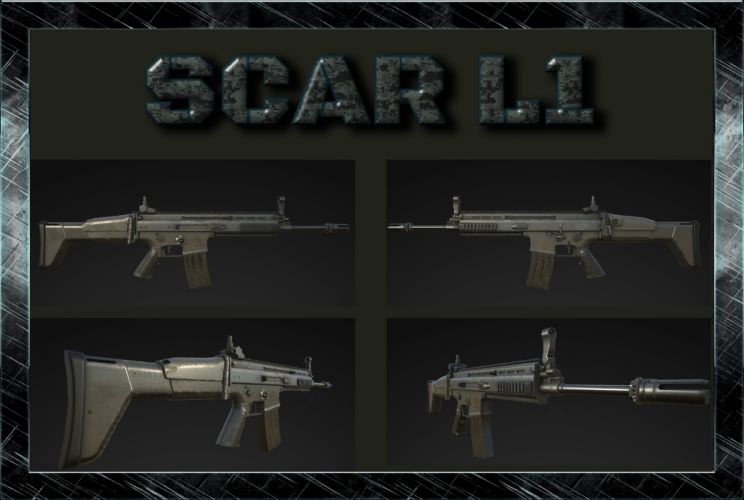 SCAR L1 Collage wallpaper