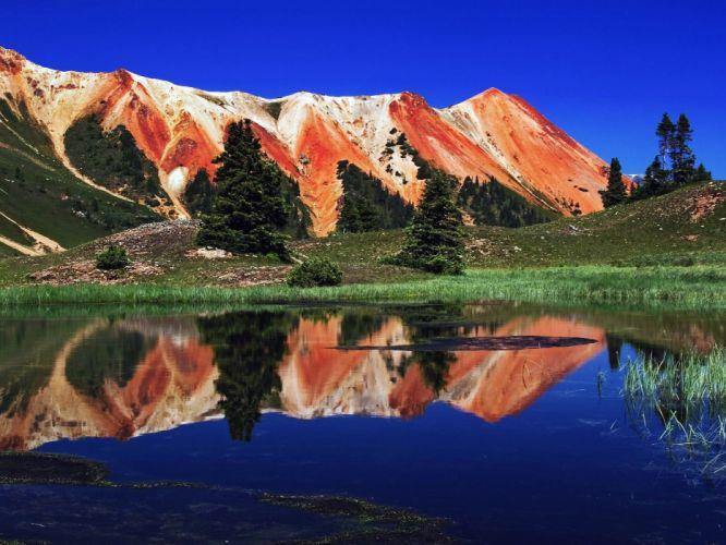Colorado View of the mountain wallpaper