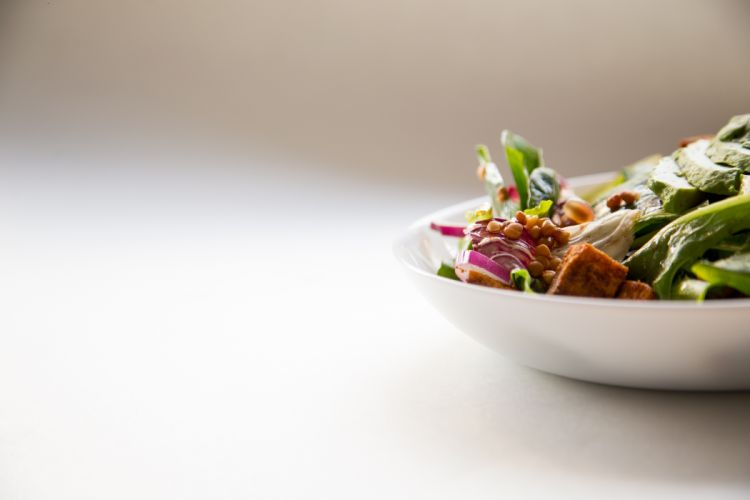blur bowl close-up delicious depth of field dish focus healthy meat tasty vegetables yummy wallpaper