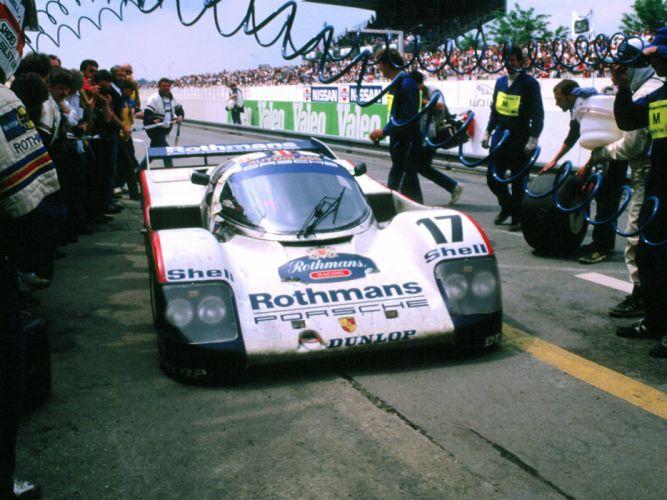 Porsche 962 Race Car wallpaper