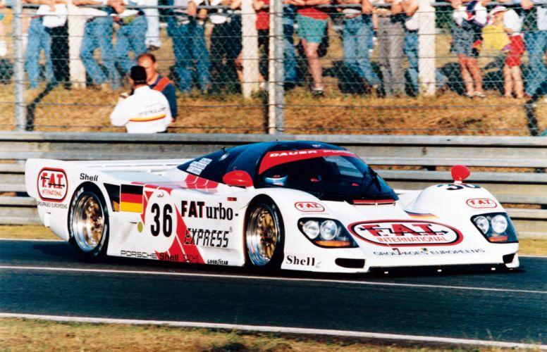 Porsche 962 Dauer Race Car wallpaper