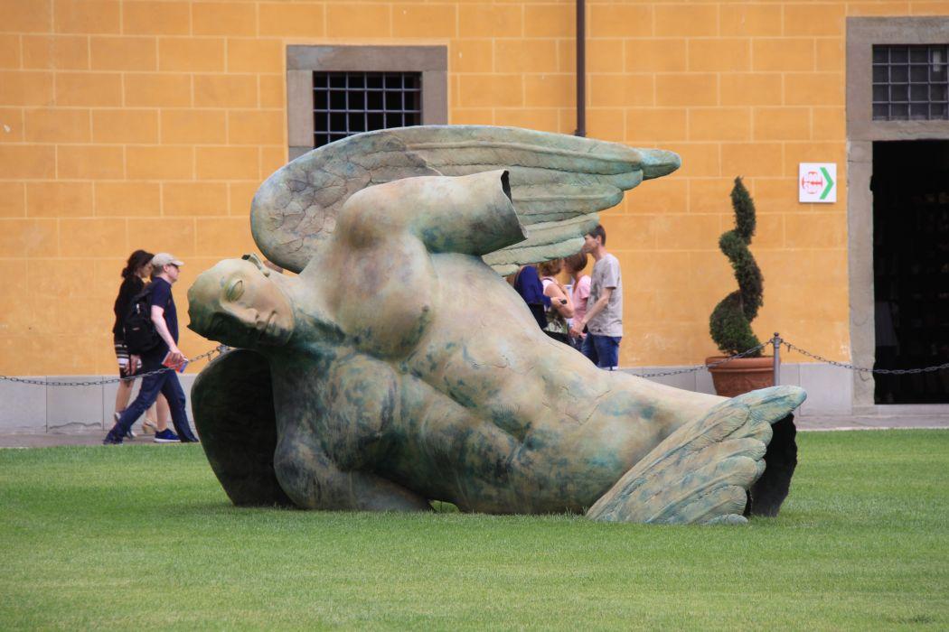 Fallen Angel Pisa Italy wallpaper