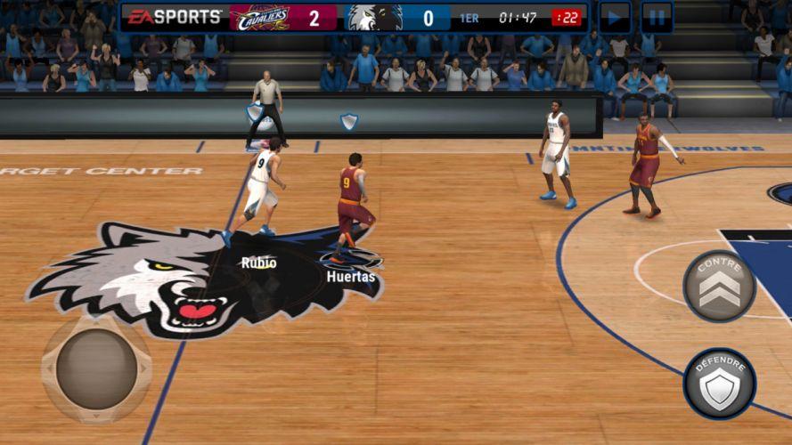 clasico video juego basket nba wallpaper