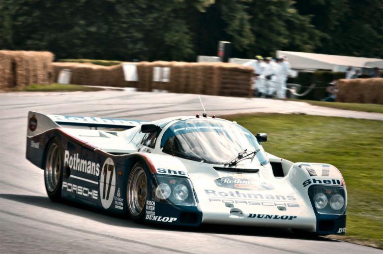 Porsche 962C Classic Race Car wallpaper