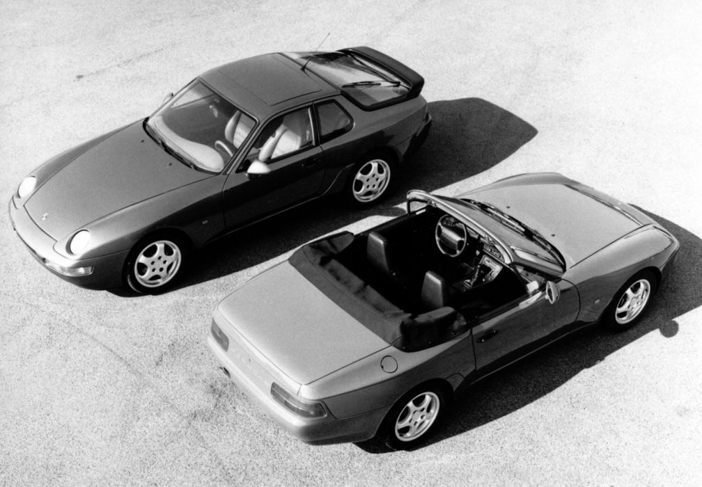 Porsche 968 Cabriolet wallpaper