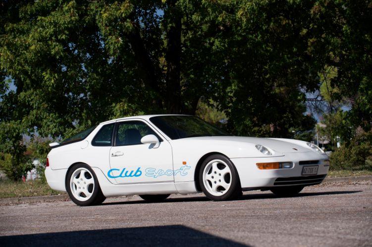 Porsche 968 Club Sport wallpaper