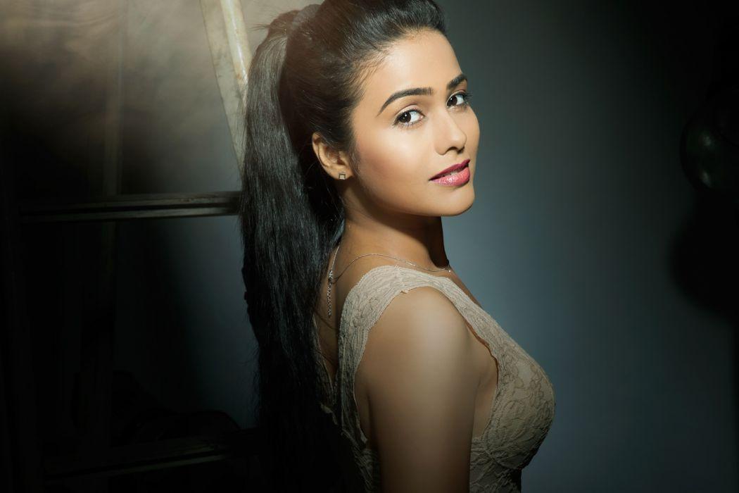 akshra gurav bollywood actress celebrity model girl beautiful brunette pretty cute beauty sexy hot pose face eyes hair lips smile figure makeup indian wallpaper