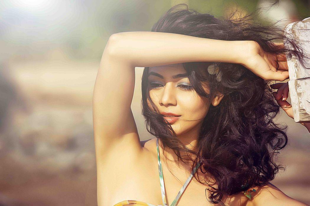 Meghana-Kaushik bollywood actress celebrity model girl beautiful brunette pretty cute beauty sexy hot pose face eyes hair lips smile figure makeup indian wallpaper