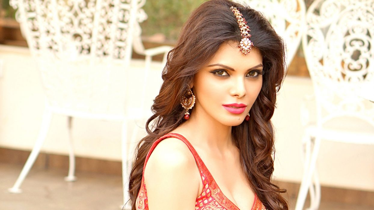Sherlyn-Chopra bollywood actress celebrity model girl beautiful brunette pretty cute beauty sexy hot pose face eyes hair lips smile figure makeup indian wallpaper