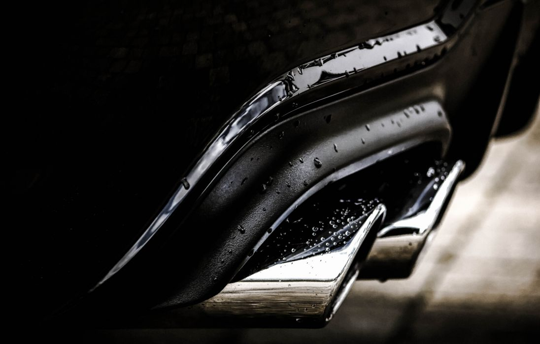 auto automobile black and white black-and-white car classic close -up dark exhaust pipe luxury performance power reflection speed still life vehicle water drops wallpaper