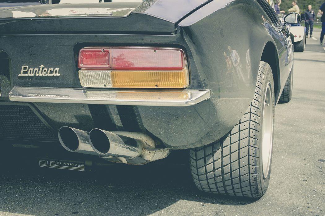 automobile car exhaust pipe retro sports car tire vintage car wallpaper