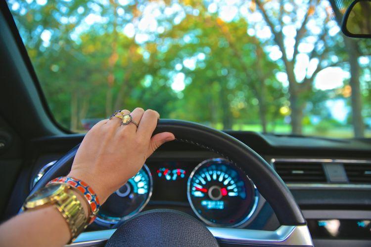 car driving steering wheel wallpaper