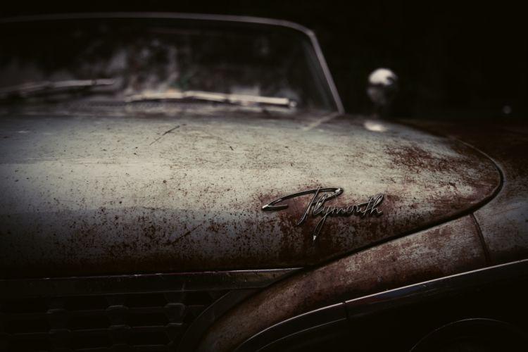 car oldtimer rust vintage wallpaper