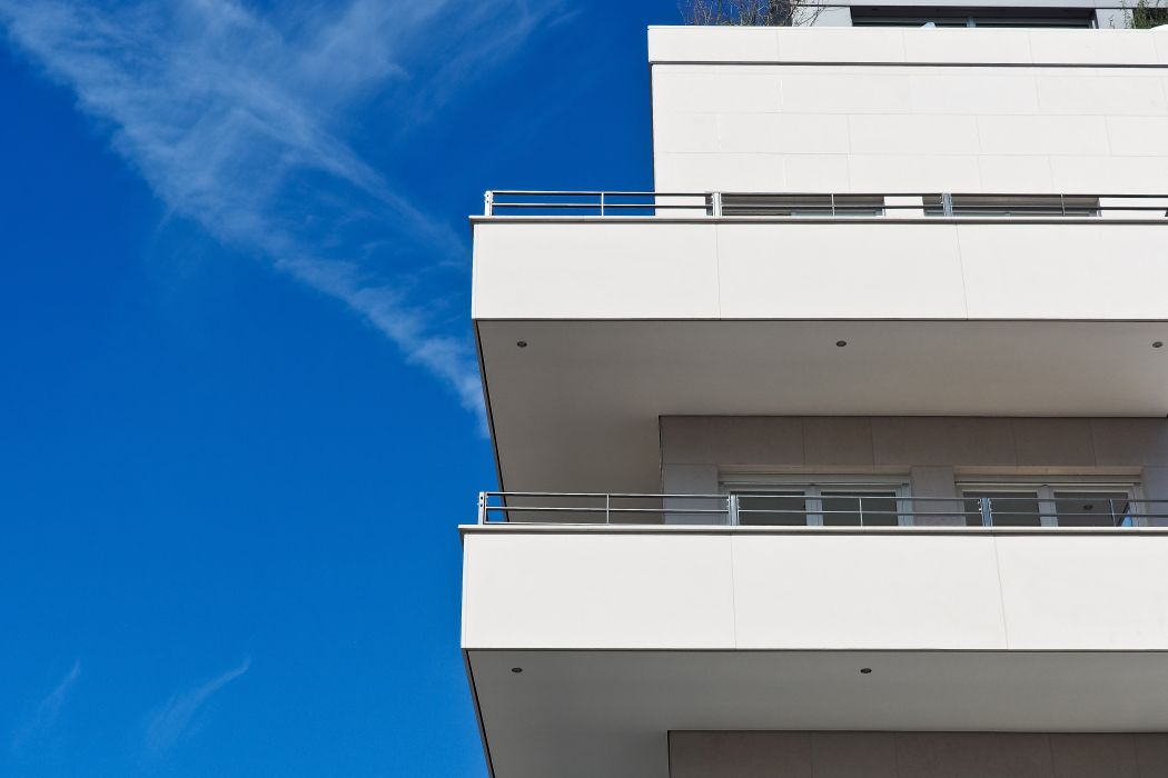 apartment architecture balconies building business clouds construction contemporary daylight design downtown expression exterior facade family finance high home house industry investment wallpaper